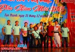 Chương trình Chào Đón Năm Mới 2015 Tại TTVH - TT Huyện Tân Thành